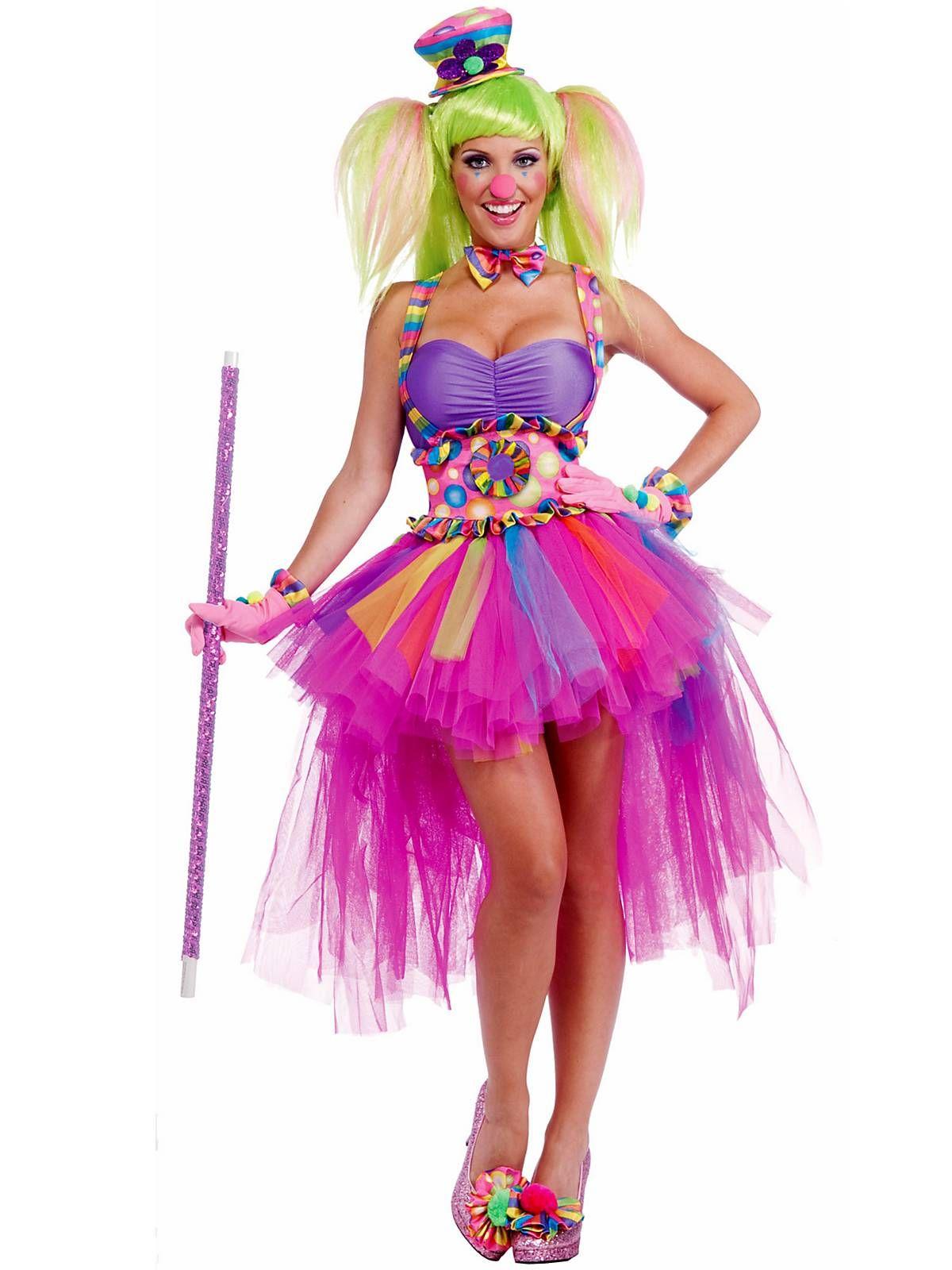 76ada196440d9 Sexy Tutu Lulu the Clown Costume   Wholesale Clown Costumes for Adults
