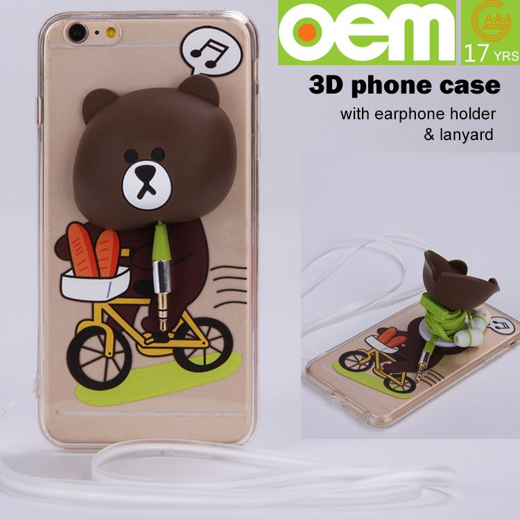 Custom made wholesale sublimation tpu cell phone case for
