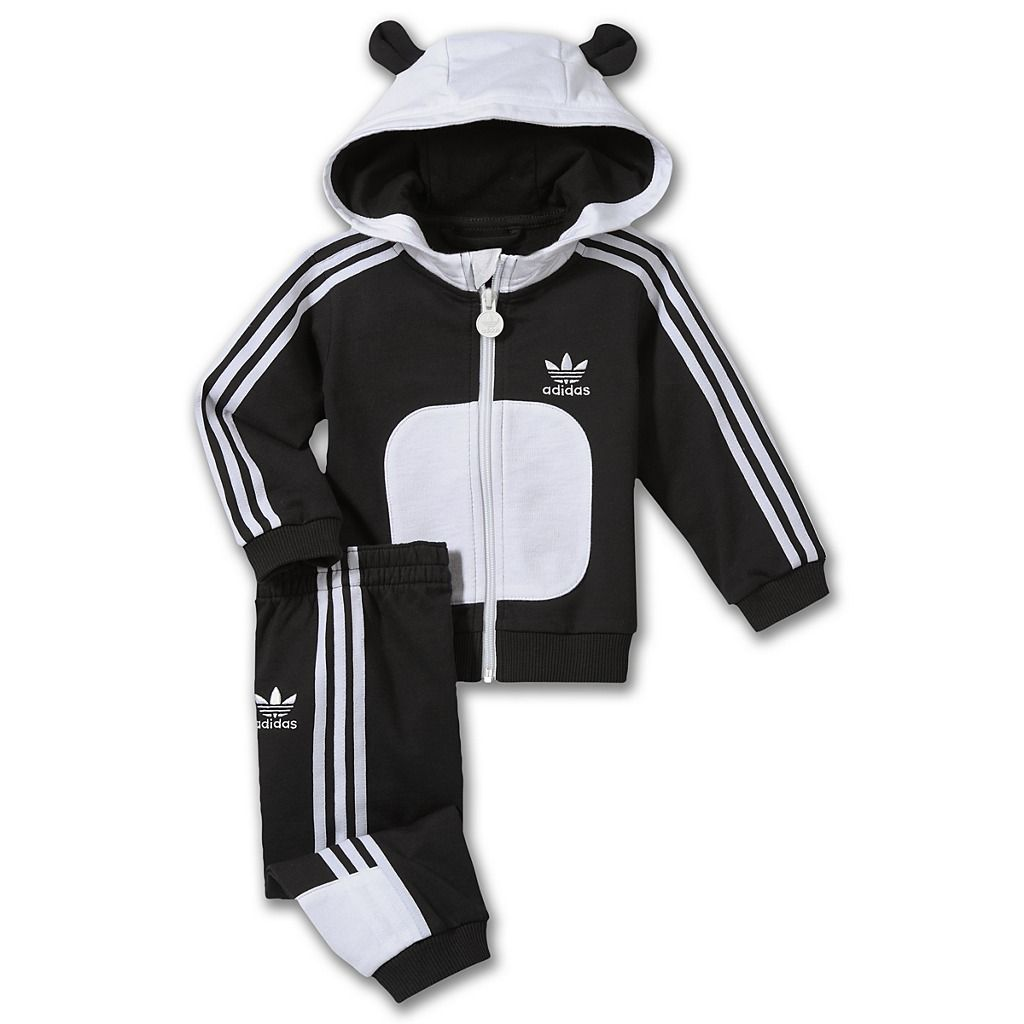 sélection premium e66e9 d8648 Adidas panda track suit. | Oh baby. | Baby boy outfits, Baby ...