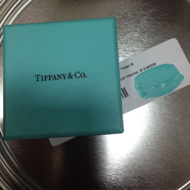 Tiffany Blue Paints Tiffany: The Tiffany Blue Color Is Trademarked And Therefore Cannot