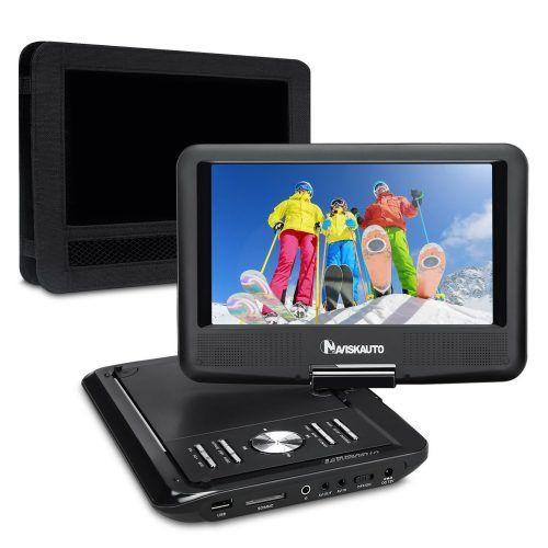 NAVISKAUTO 9 inch Portable DVD/CD Player