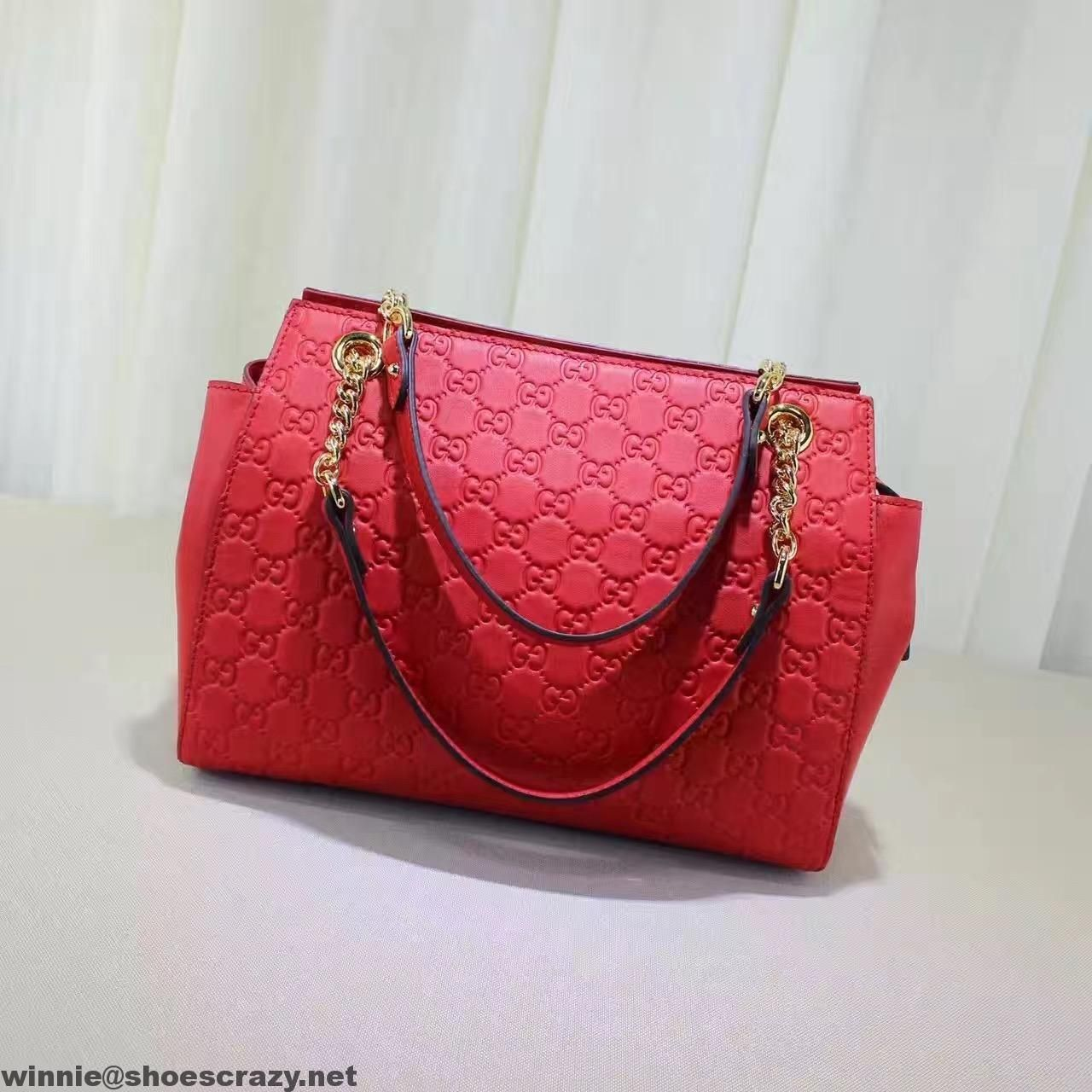 e8dd2fa960b Gucci Soft Gucci Signature Large Shoulder Bag 453771 2016   Gucci ...
