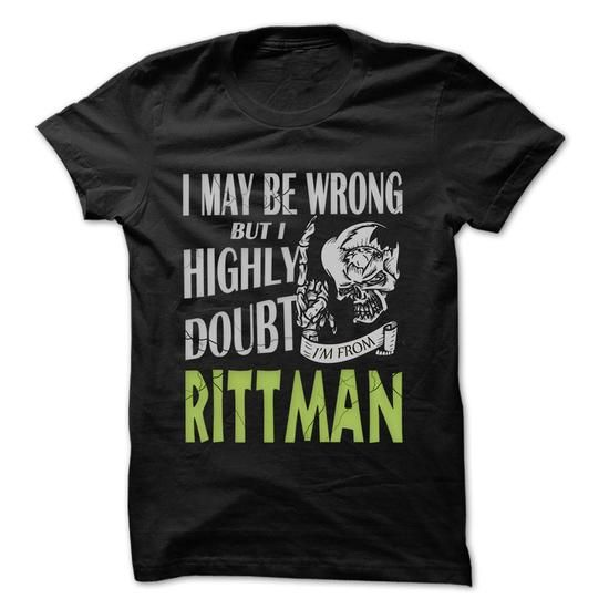 From Rittman Doubt Wrong- 99 Cool City Shirt ! - #mothers day gift #gift friend. LOWEST PRICE => https://www.sunfrog.com/LifeStyle/From-Rittman-Doubt-Wrong-99-Cool-City-Shirt-.html?68278