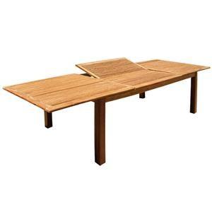 Tavolo da pranzo per esterno maxi 240 legno balau