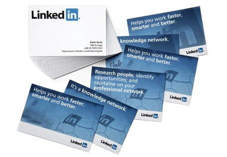 Linked Inside For Business Examples Of Business Cards Business Card Design Inspiration Moo Business Cards