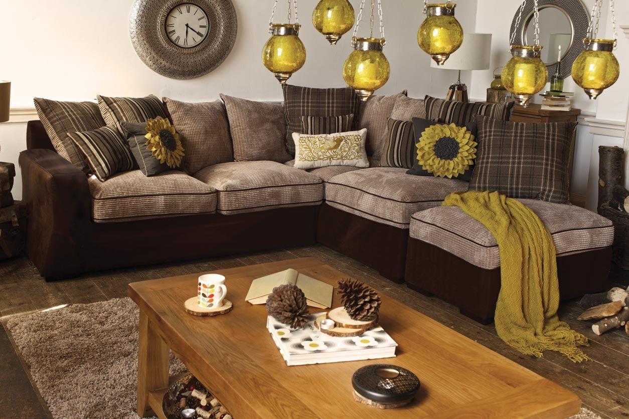 Lambert corner sofa with footstool from harvey norman - Harvey norman ireland ...