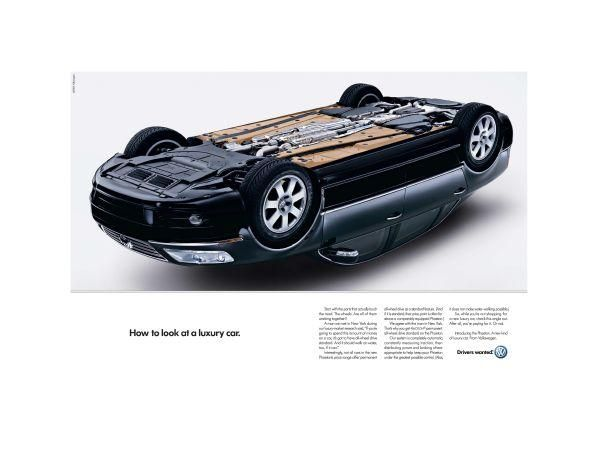 adverts volkswagen cars luxury car print ad by arnold worldwide boston - Cars Pictures To Print