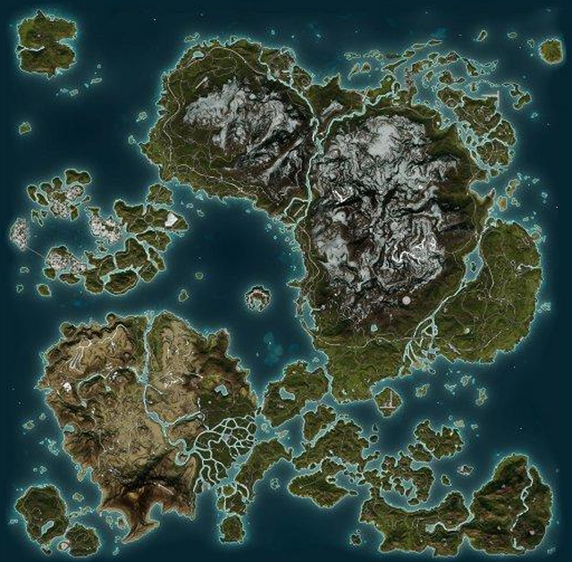 Beautiful Video Game World Maps Video games and Gaming