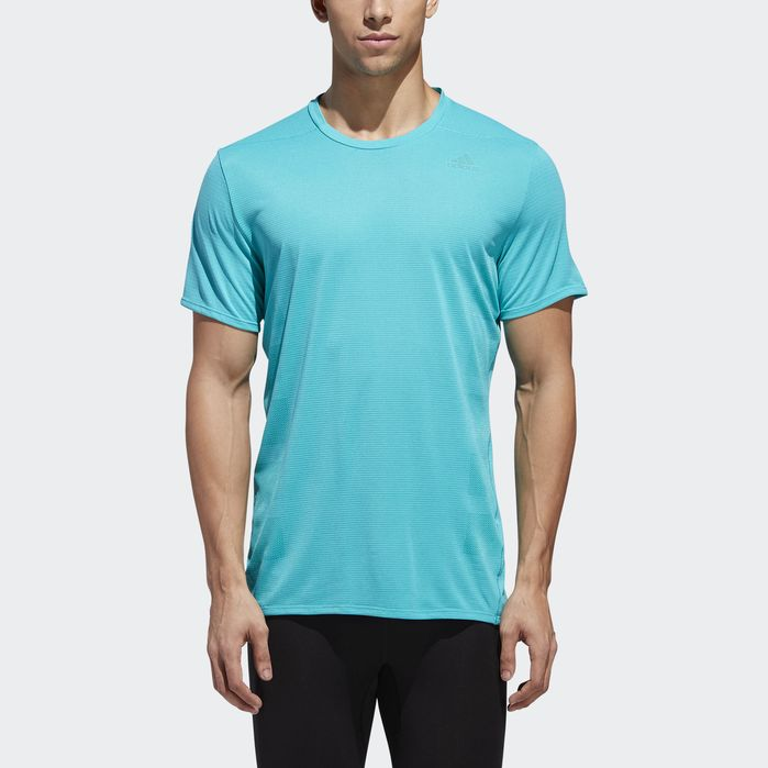 adidas Performance Supernova T-Shirt Men Shirts;T-Shirts Blue Short Sleeves
