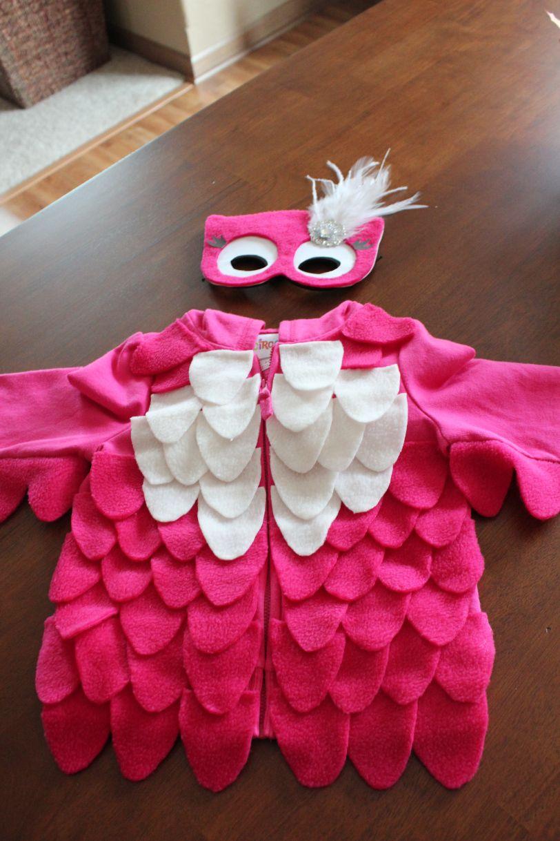 DIY Owl Costume Owl halloween costumes, Owl costume kids