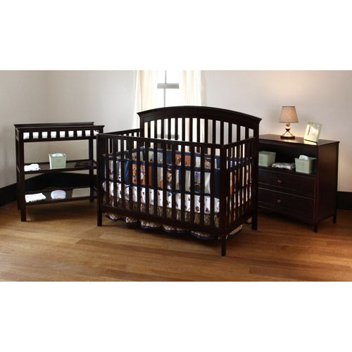 Summer Infant - Fairfield Crib Changing Table and Dresser 3 PC Set Cordovan (Wal-Mart $289)  sc 1 st  Pinterest : crib changing table set - Pezcame.Com