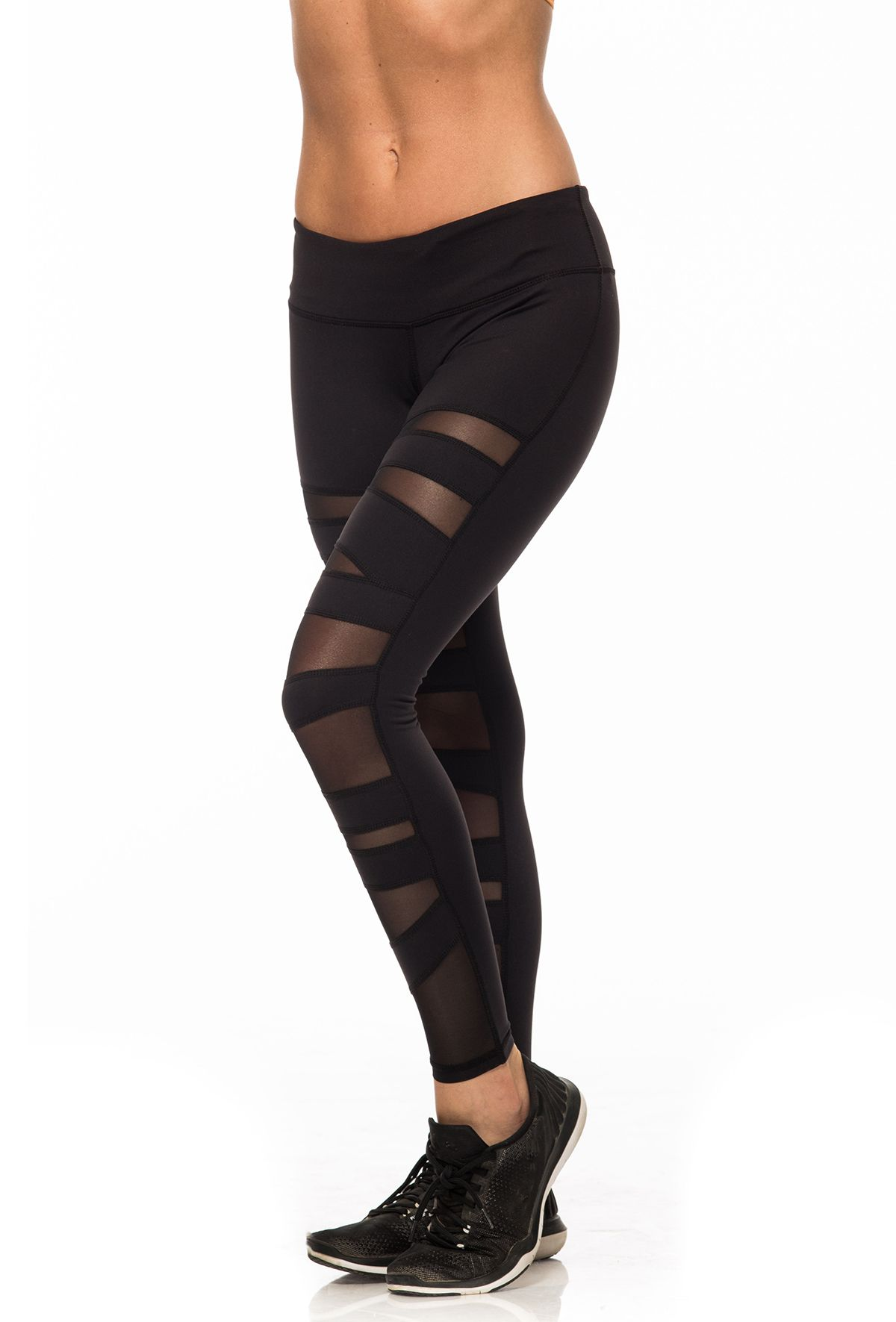 Front Mesh Leggings Clothing Dropshipping in USA & Canada 2018