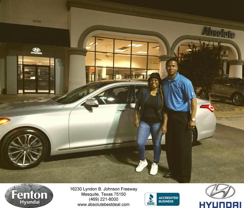 Congratulations Lakeshia on your #Hyundai #Genesis from Kevin ...