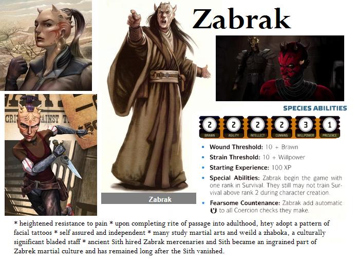 zabrak star wars rpg races force and destiny fantasy flight games