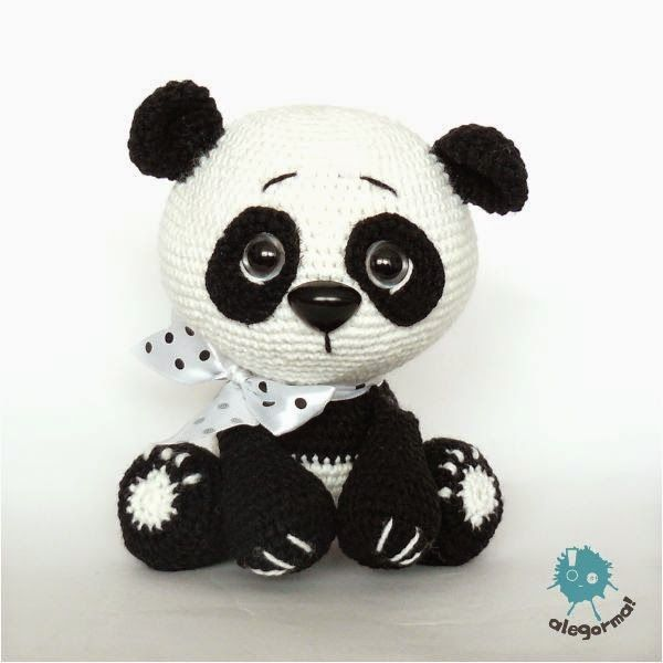 panda, szydełko, amigurumi, ekozabawki, #szydelko #crochet ...
