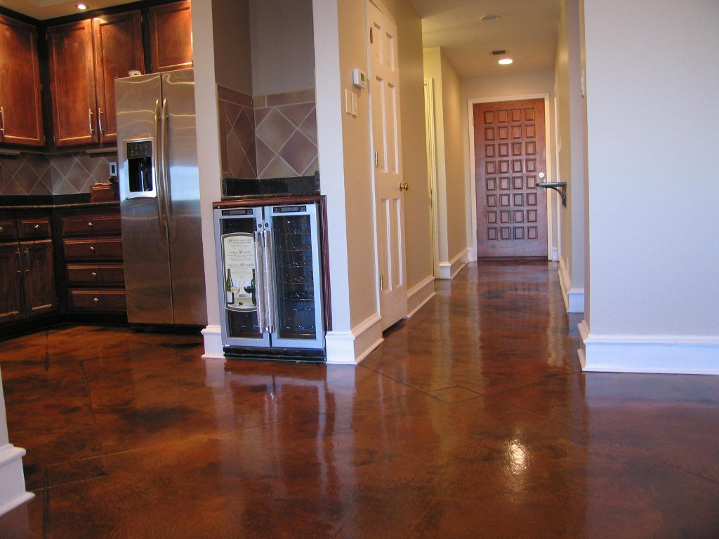 dark brown stained concrete floors.  Dark Stained Concrete Floors Exellent Ideas Google Image Result