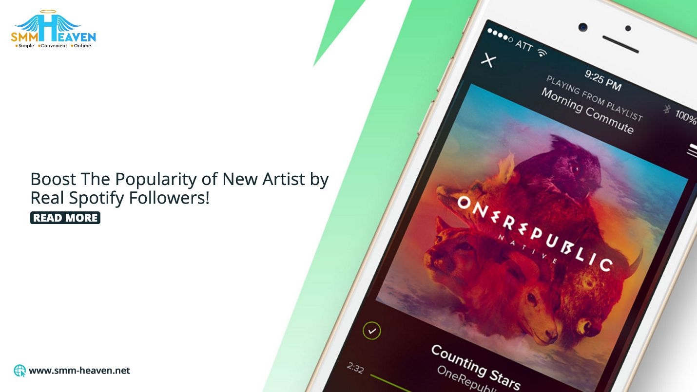 Boost The Popularity Of New Artists By Real Spotify Followers Spotify For You Song New Artists
