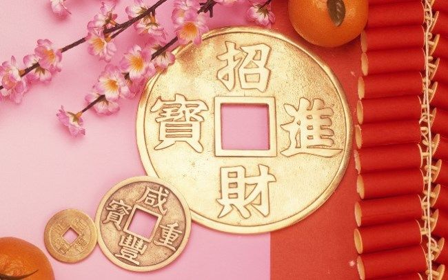 chinese new year wallpaper 2018 with colorful images
