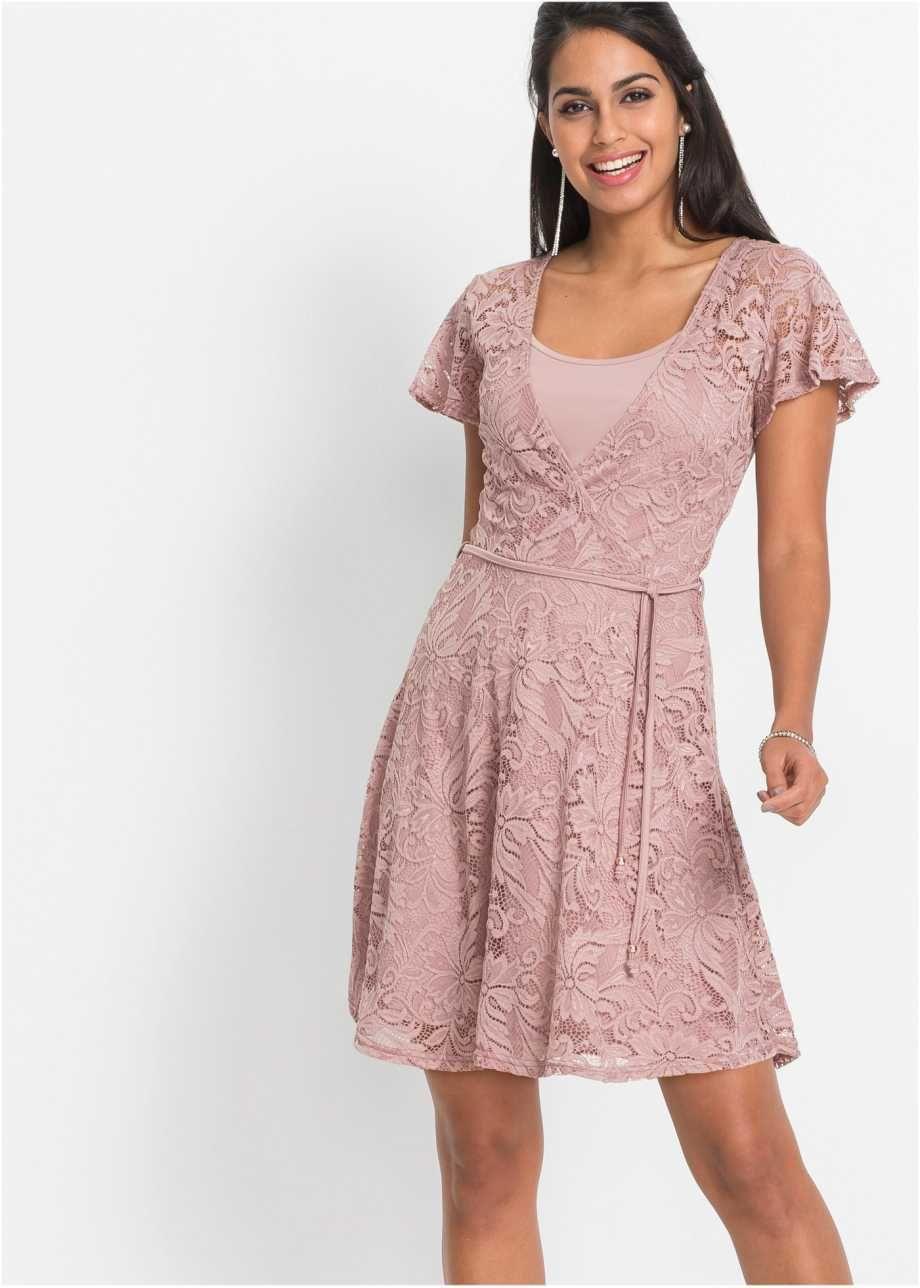 Kleid mit Spitze, BODYFLIRT  Elbiseler