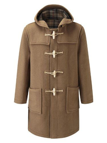 Original Montgomery Mens Wooden Toggles Duffle Coat (48, Camel) for sale