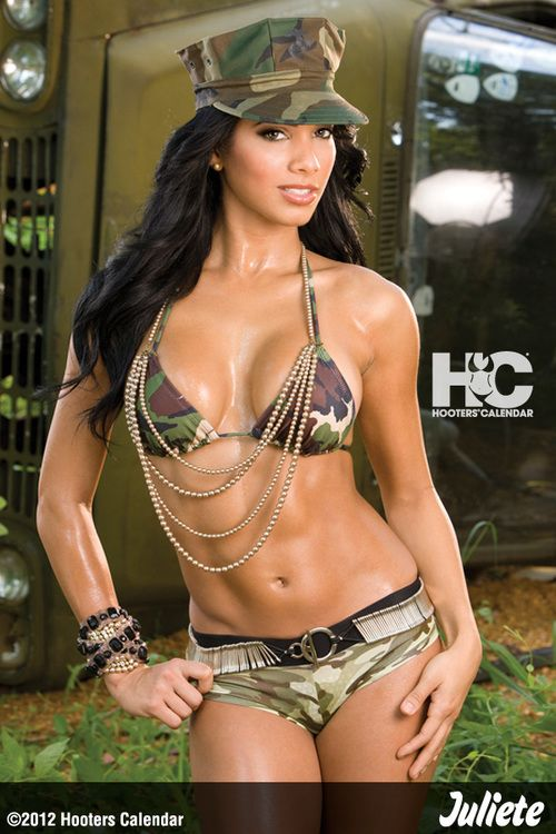Calendars military bikinis hot models