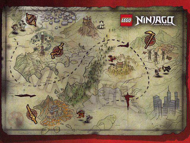 Ninjago Map Lego Ninjago Birthday Lego Ninjago Lego Ninjago Party
