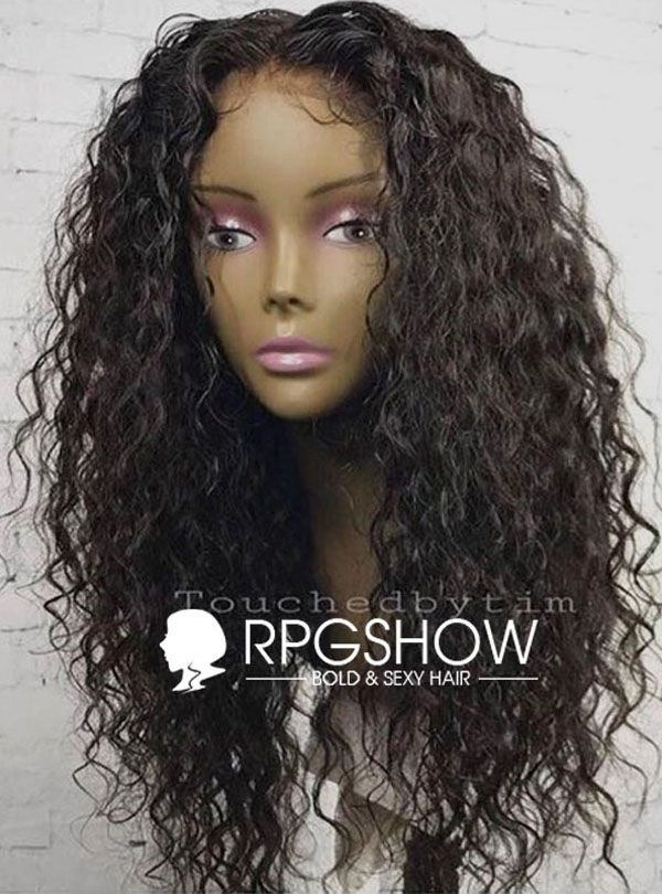 Hair Extensions & Wigs 360 Lace Wigs Dependable Eva Hair 150% Density 360 Lace Frontal Wigs With Baby Hair Ocean Wave Pre Plucked Front Lace Wig For Women Brazilian Remy Hair