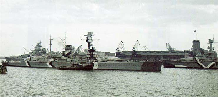 Bismarck Gallery Theme The Bismarck In Colour Battleship Heavy Cruiser Navy Day