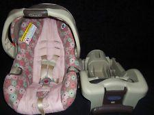 Graco snugride 30 infant baby girl car seat w/ base & latch | Car ...