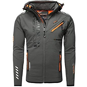 Hombre Geographical Norway Tambour Chaqueta Softshell para Hombre