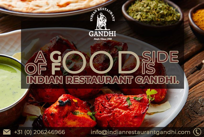 Good Side Of Food Is Indian Restaurant Gandhi Food Clean Recipes Amsterdam Food