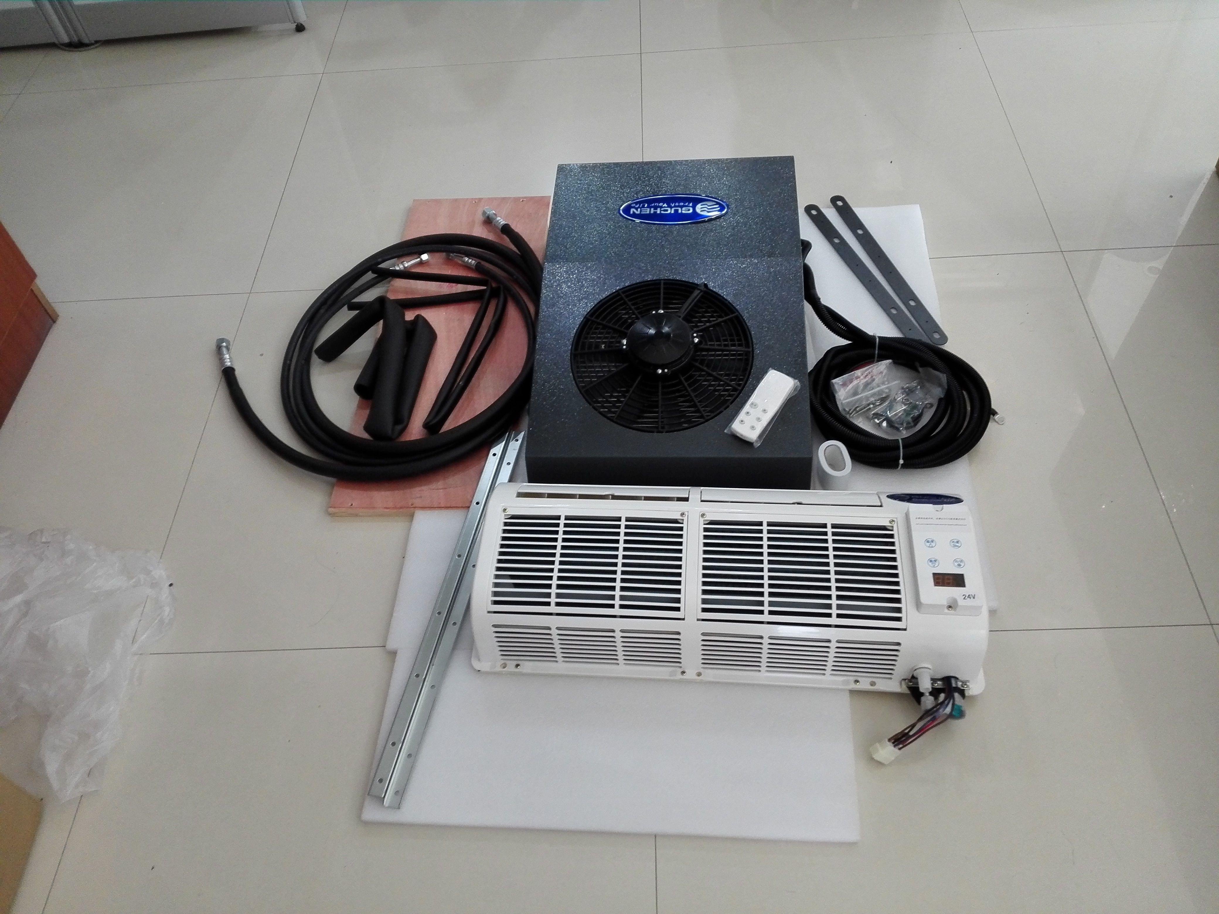 Airpro300b van air conditioner uses low voltage protector