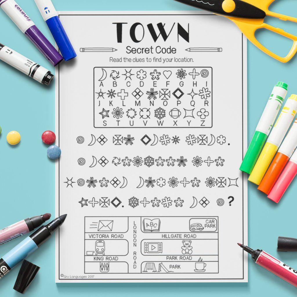 Town Secret Code