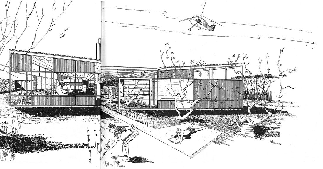 Ralph Rapson From Case Study Houses By Esther Mccoy