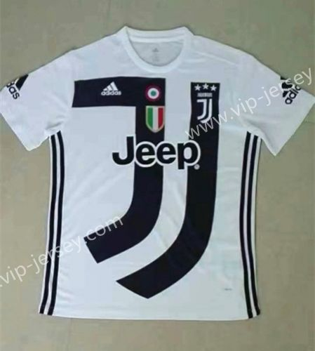 9162a0686f2 2018-19 Juventus Commemorative Edition White Thailand Soccer Jersey ...