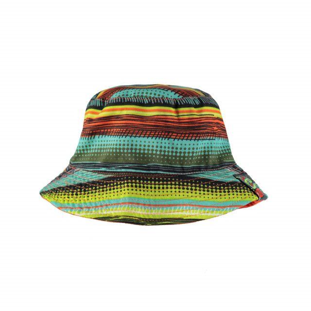 1578501eeca Home page. Swimwear Collection Stripe Orange Reversible Bucket Hat Multi  Orange   Chapeau bob réversible à rayures   orange Souris Mini