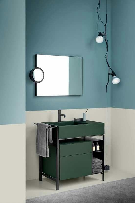 Streich die Wände im Badezimmer: www.kolorat.de #KOLORAT #Wandfarbe ...