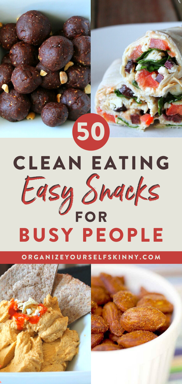 Clean Eating Snacks for Super Busy People on the Go!