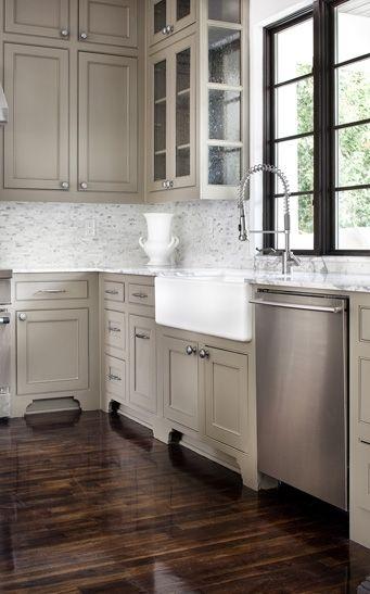 Beige Cabinets - Foter | Kitchen cabinet colors, Beige ...