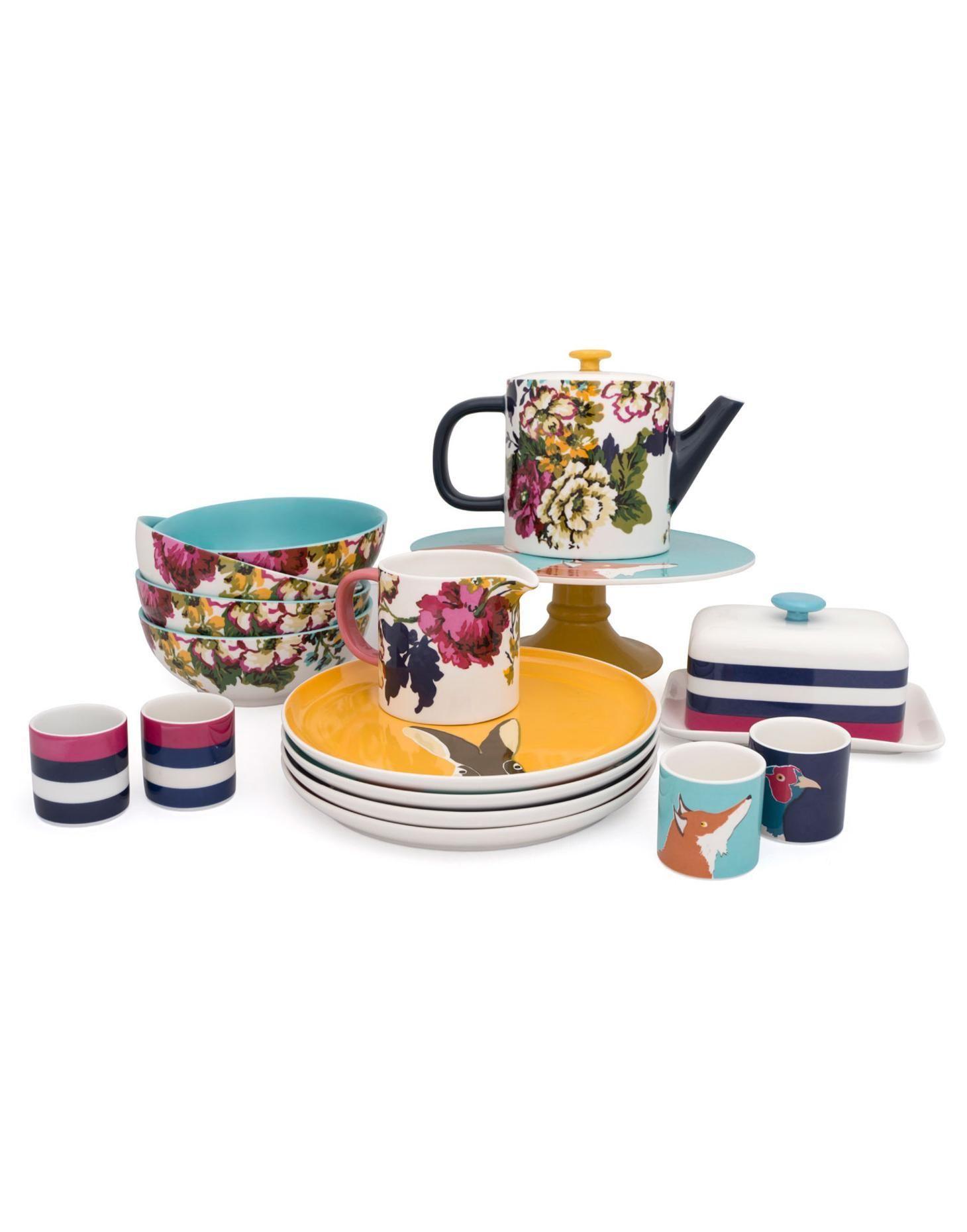Tea Set Crockery Joules Tableware