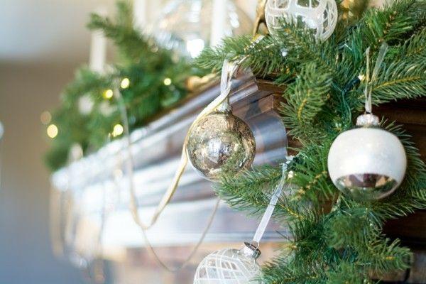 Rustikale Weihnachtsdeko selber machen: effektvolle und einfache Ideen #rustikaleweihnachtentischdeko