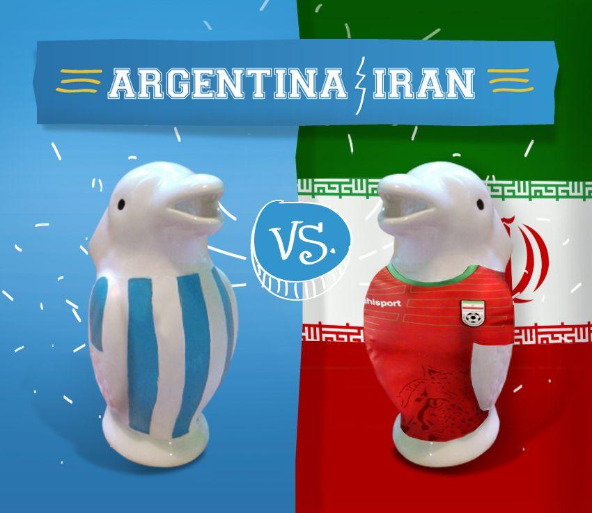 Pingüino argentino - Irán