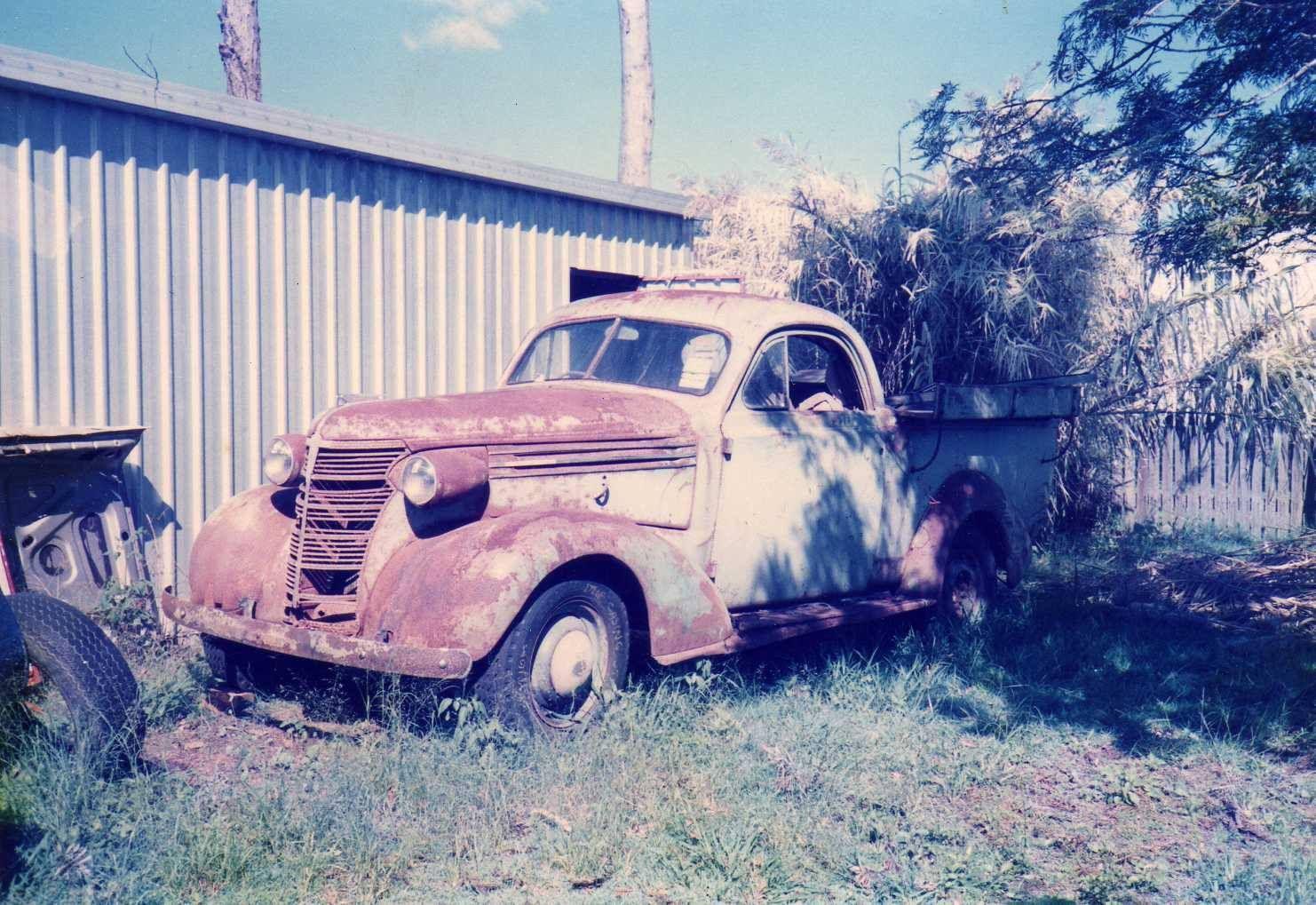 1938 Chevrolet Holdens Australia Body Wellside Coupe Ute As
