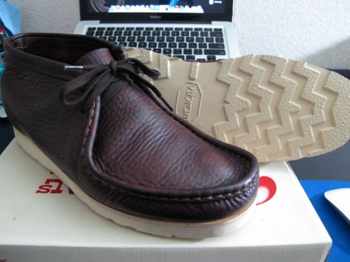 984feb4e3c Clarks Wallabee (Brown Oily Leather) w/ Vibram Christy Soles ...