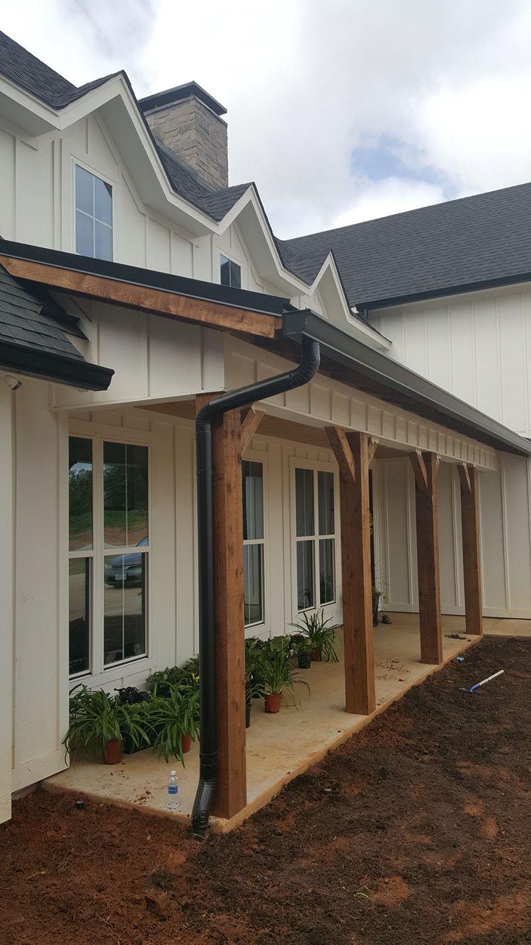 Porch on Architectural Designs Farmhouse Plan 62544DJ