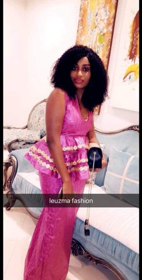 Épinglé par Merry Loum sur Sénégalaise en 2019 Robe en