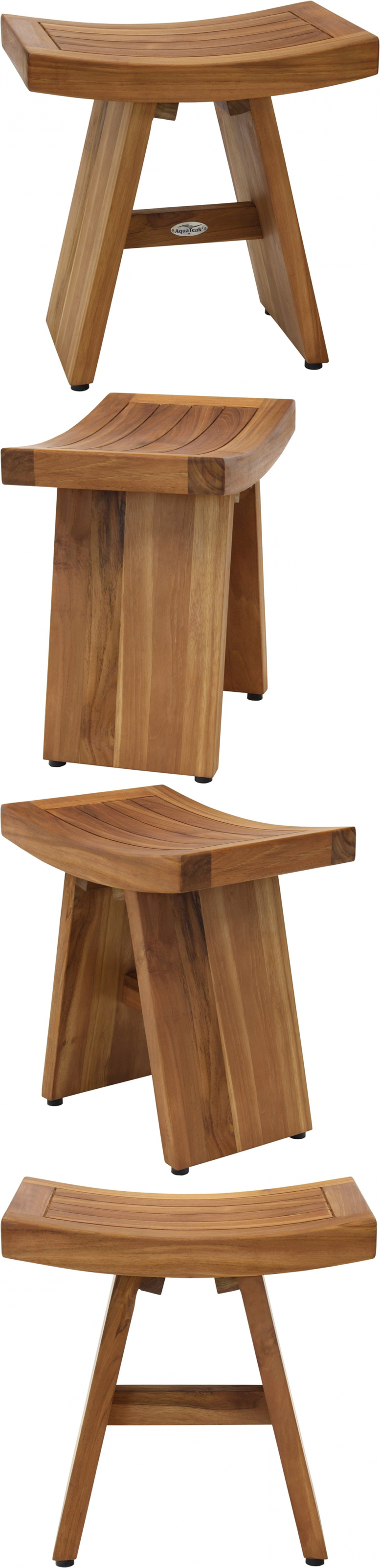 Shower and Bath Seats: The Original Asia 18 Teak Shower Bench Solid ...