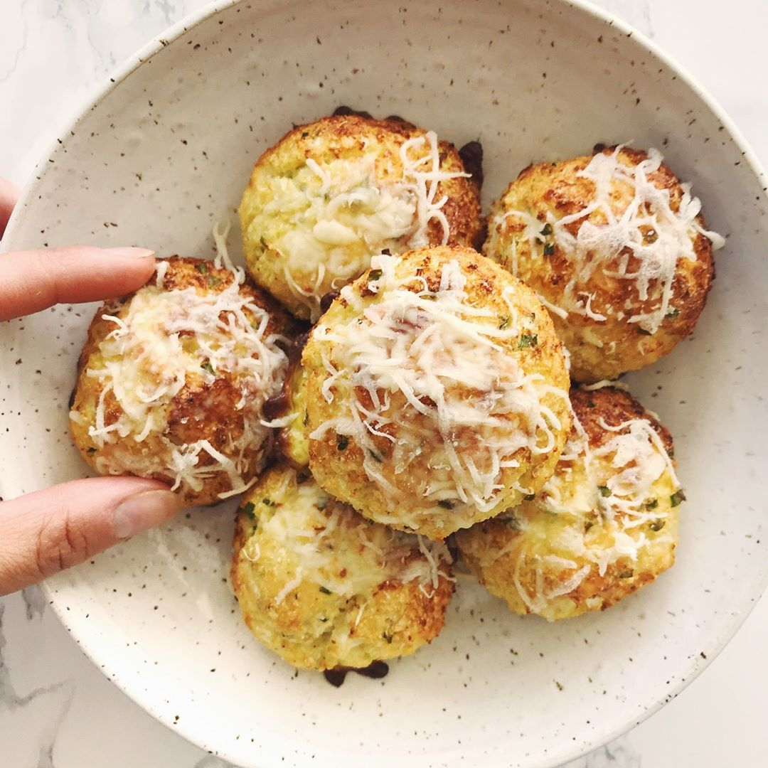 Inspiralized On Instagram Cheesy Cauliflower Biscuits These