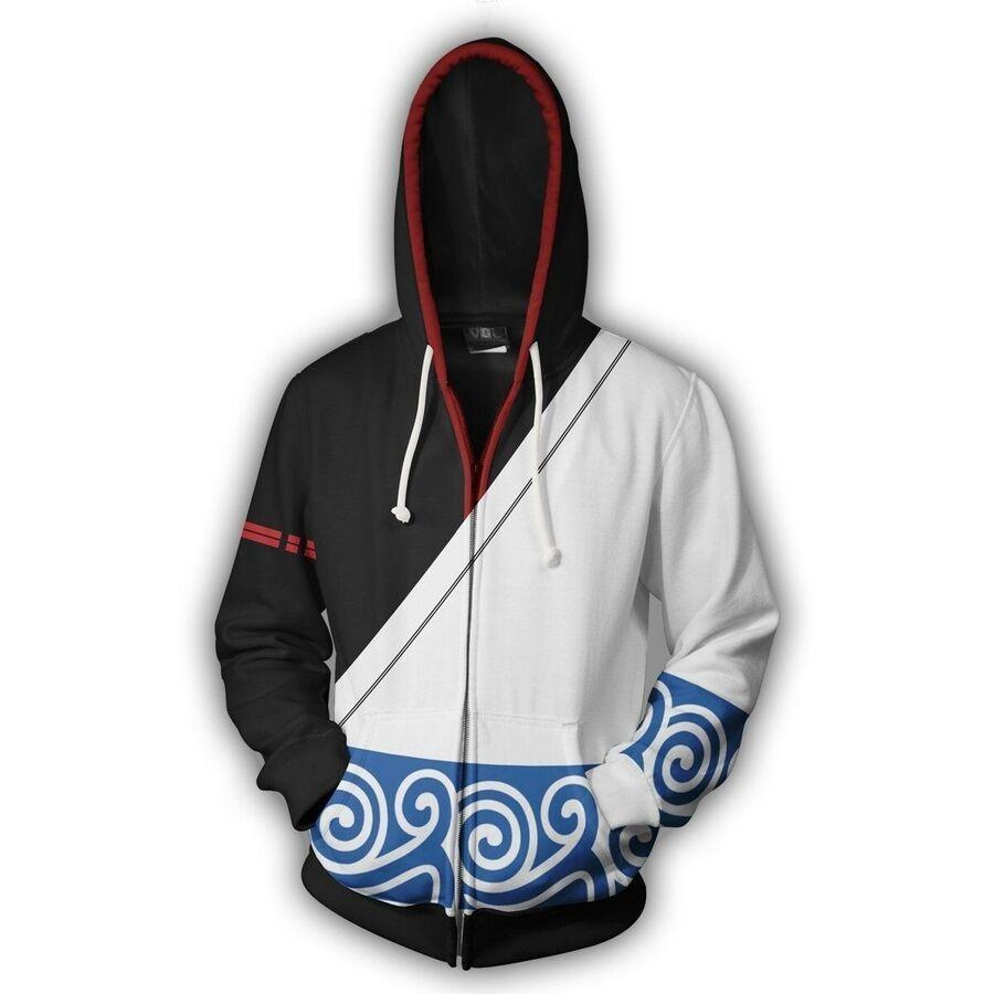 Anime BLEACH Kenpachi Zaraki Cosplay 3D Print Hoodie Sweatshirt  Costume Coat