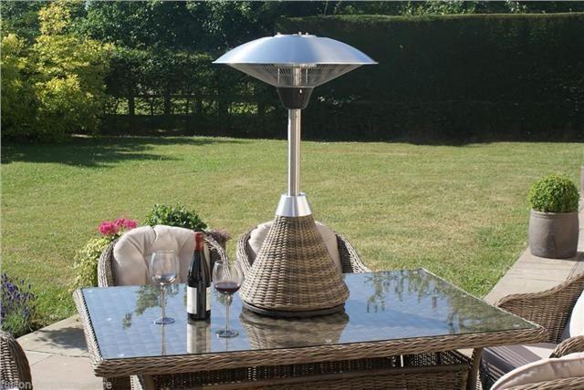 Dorchester Rattan Garden Furniture Table Top Small Outdoor Patio